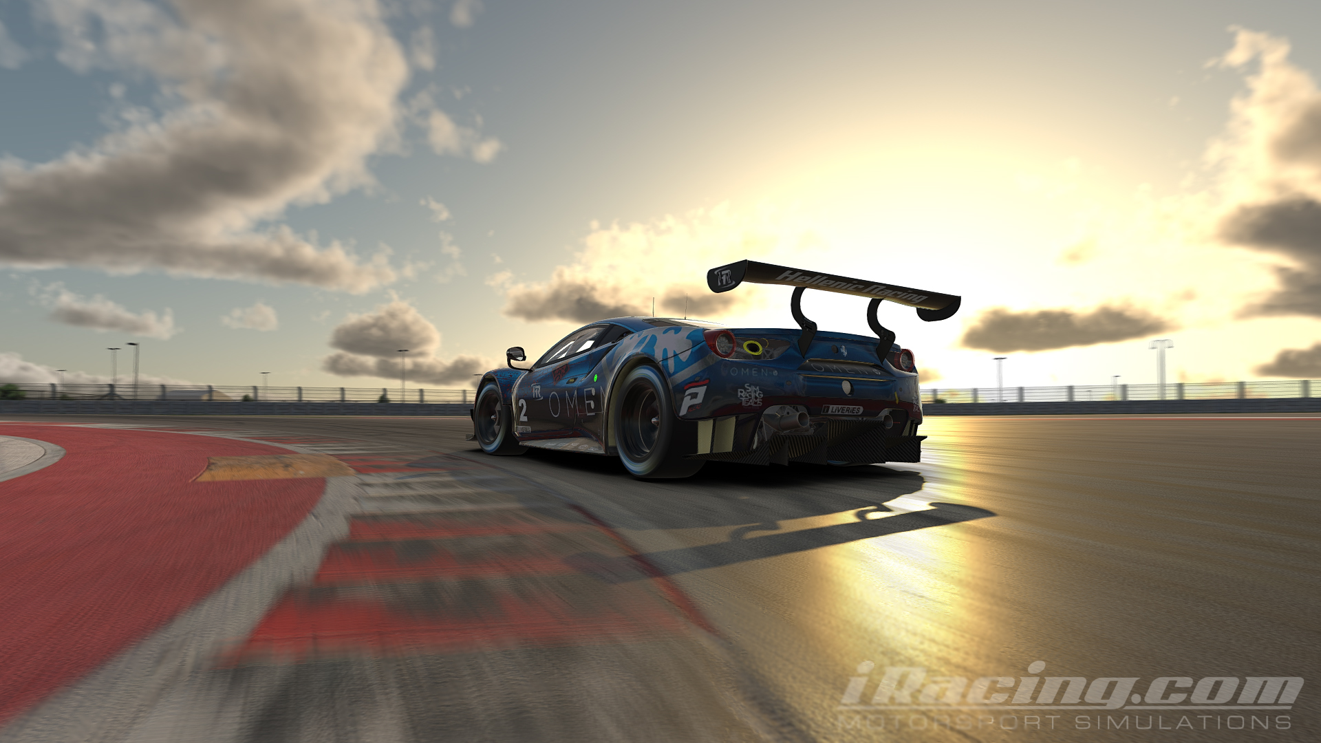 hellenicracing_cota_sunset